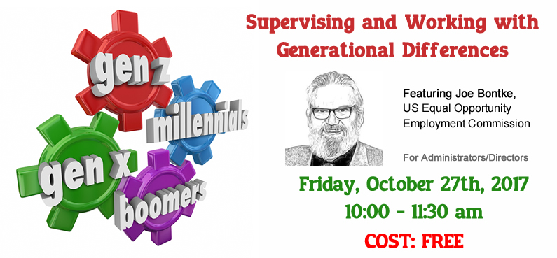Supervising and Working with Generational Differences